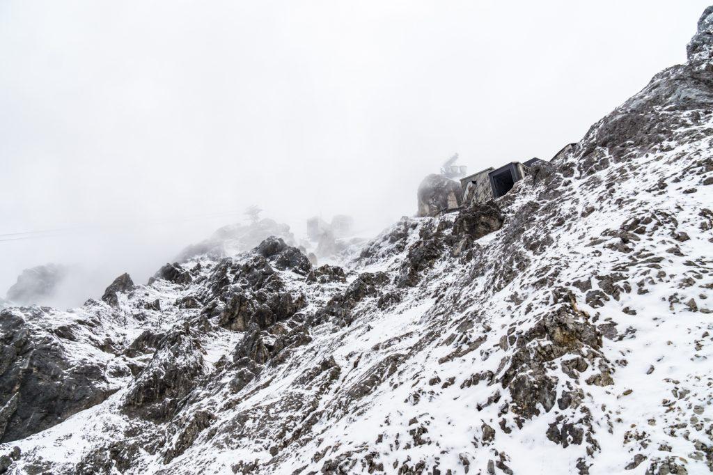 Klettersteig Zugspitze Stopselzieher : Klettersteig zugspitze über stopselzieher guiders