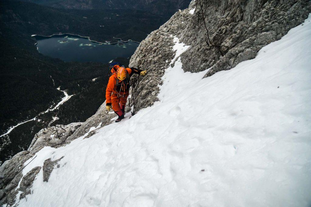 Klettersteig Eisenzeit : Neuer klettersteig auf die zugspitze in planung