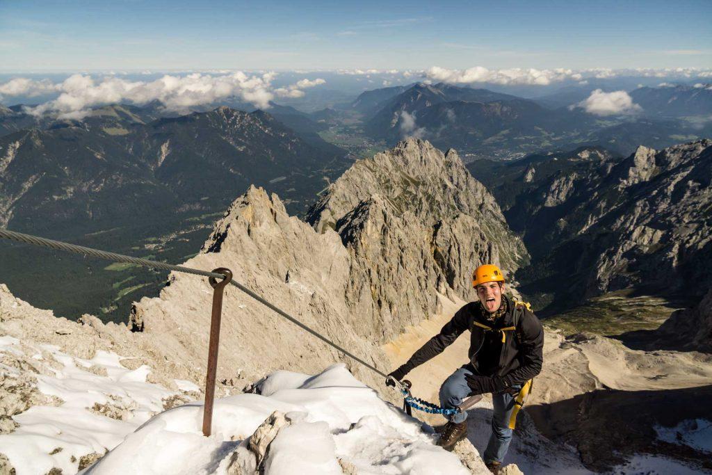 Klettersteig Zugspitze Höllental : Führung zugspitze über s höllental ludwig karrasch bergführer