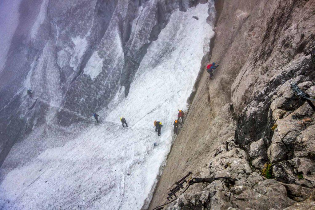 Klettersteig Zugspitze Höllental : Das hölletnal wird immer anspruchsvoller ludwig karrasch bergführer